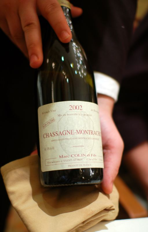 Marc Colin et Fils Cassagne-Montrachet 2002