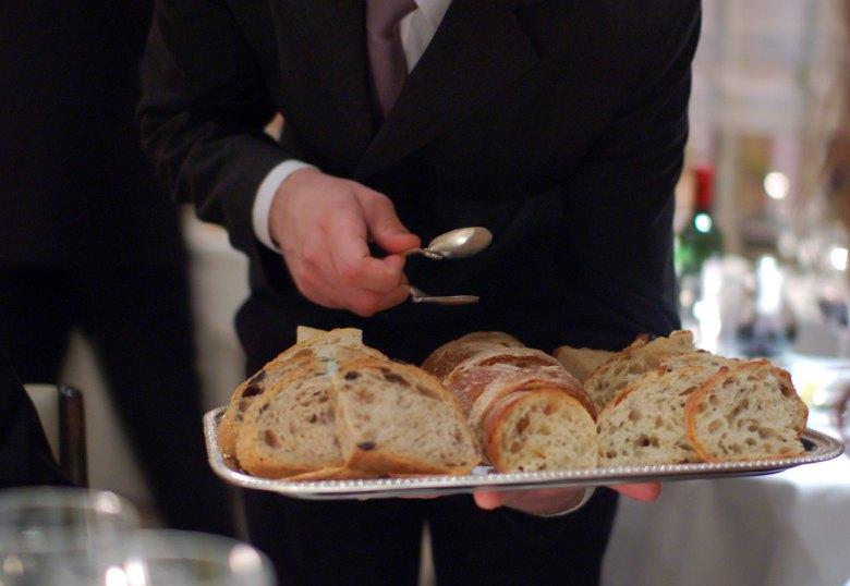 Gordon Ramsay Bread Service