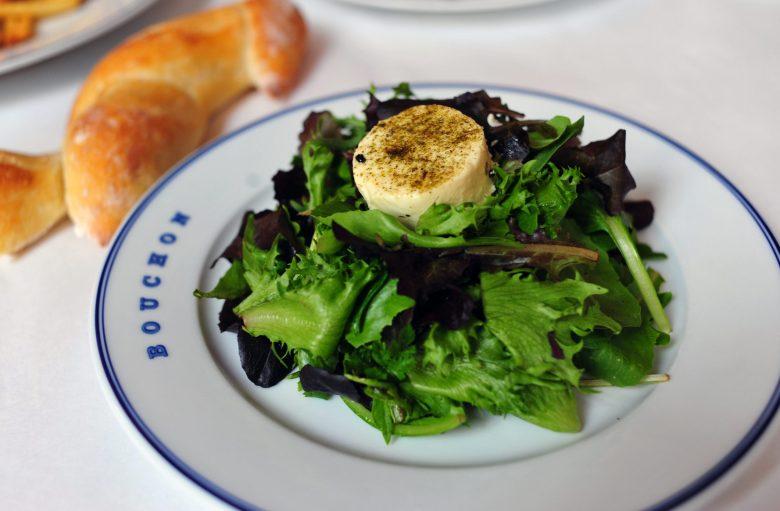 Salade Maraichere au Chevre Chaud
