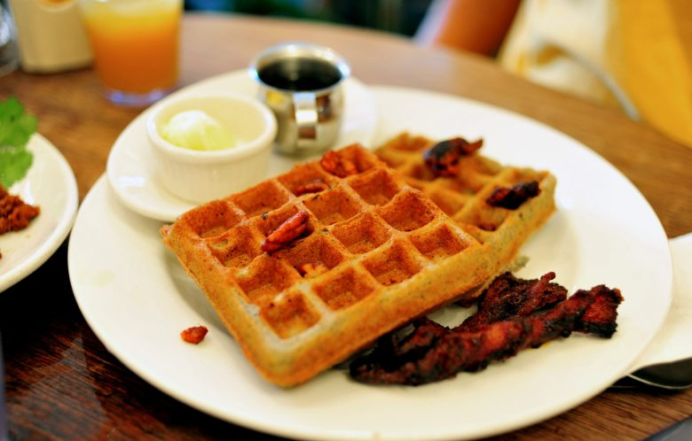 Blue Corn Waffles