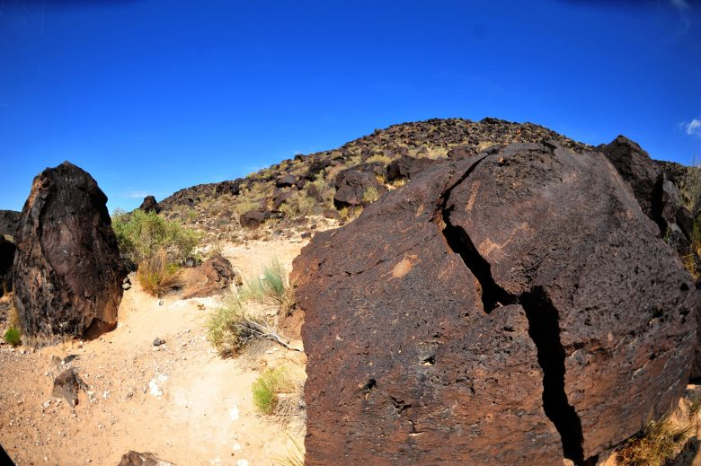 Rinconada Valley, National Petroglyph Monument, New Mexico (2009)