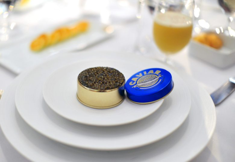 1st Course: Sterling Royal Caviar
