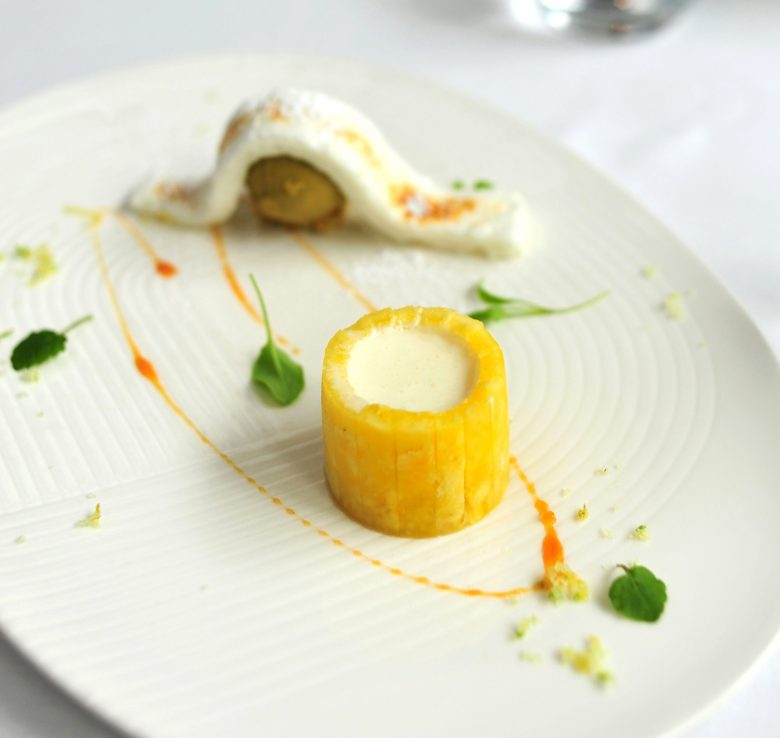 8th Course: Pineapple 'Chartreuse'
