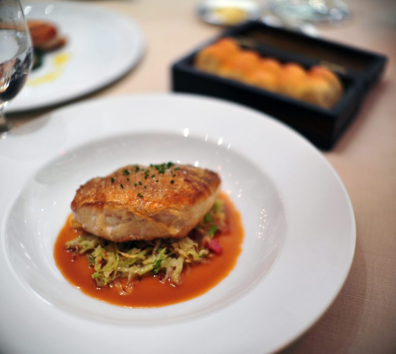 Crepinette of Red Snapper
