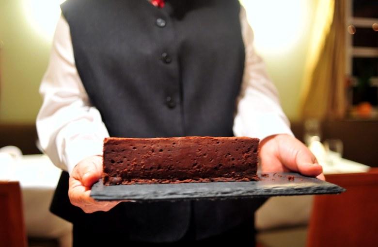 Petits Fours: Dark Chocolate Terrine