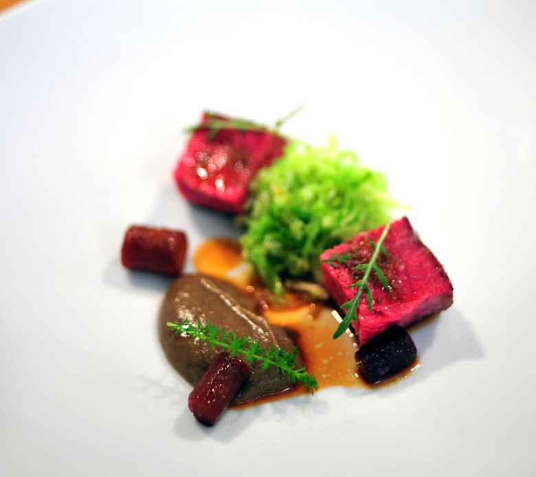 5th Course: Slow Roast of Beef Sirloin