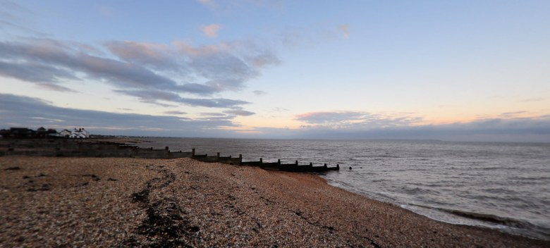 Whitstable in the morning.