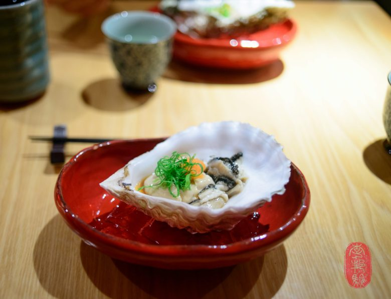1st Course: Giant Pacific Oyster