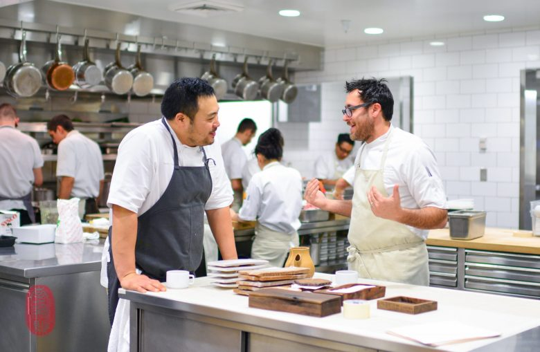 David Chang and Christopher Kostow