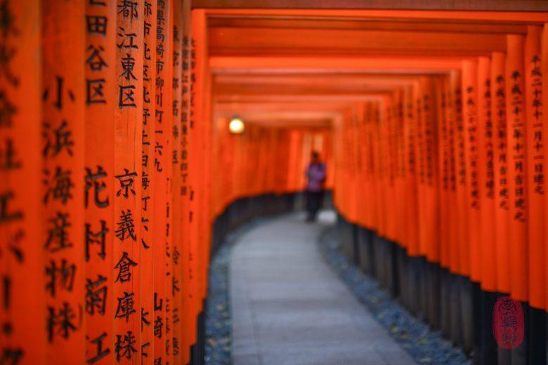 A thousand torii.
