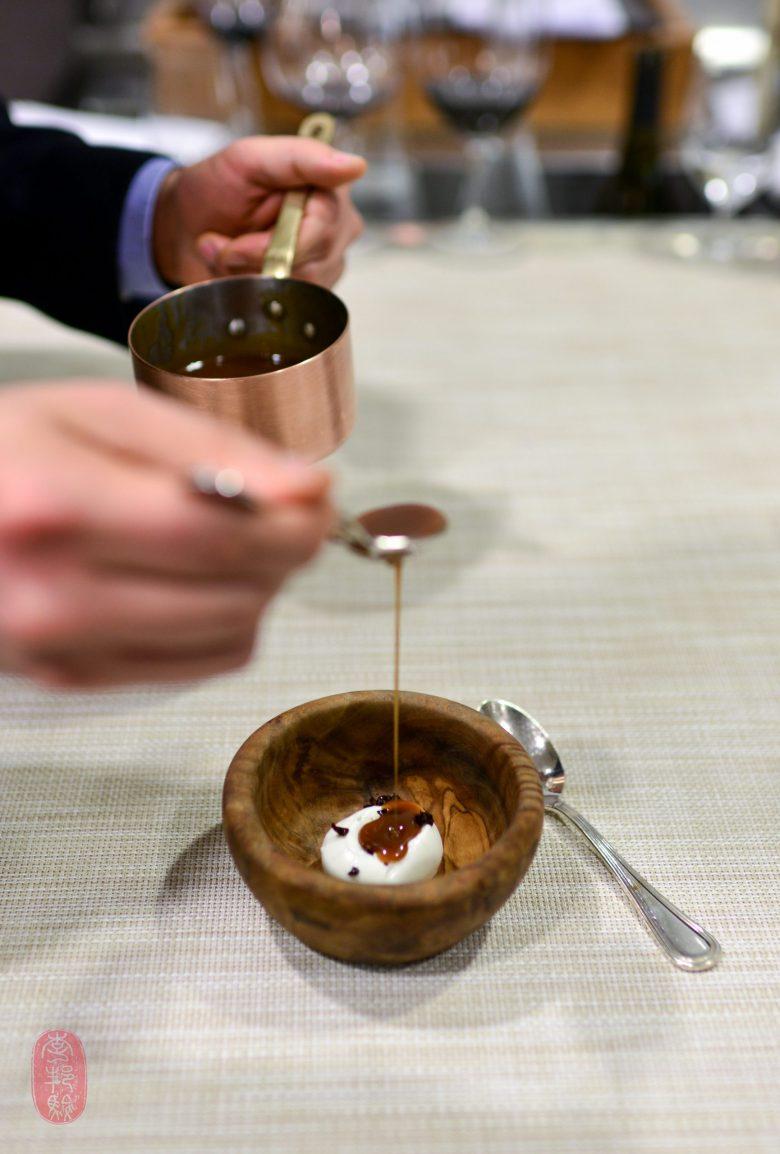 7th Course: Milk Ice Cream