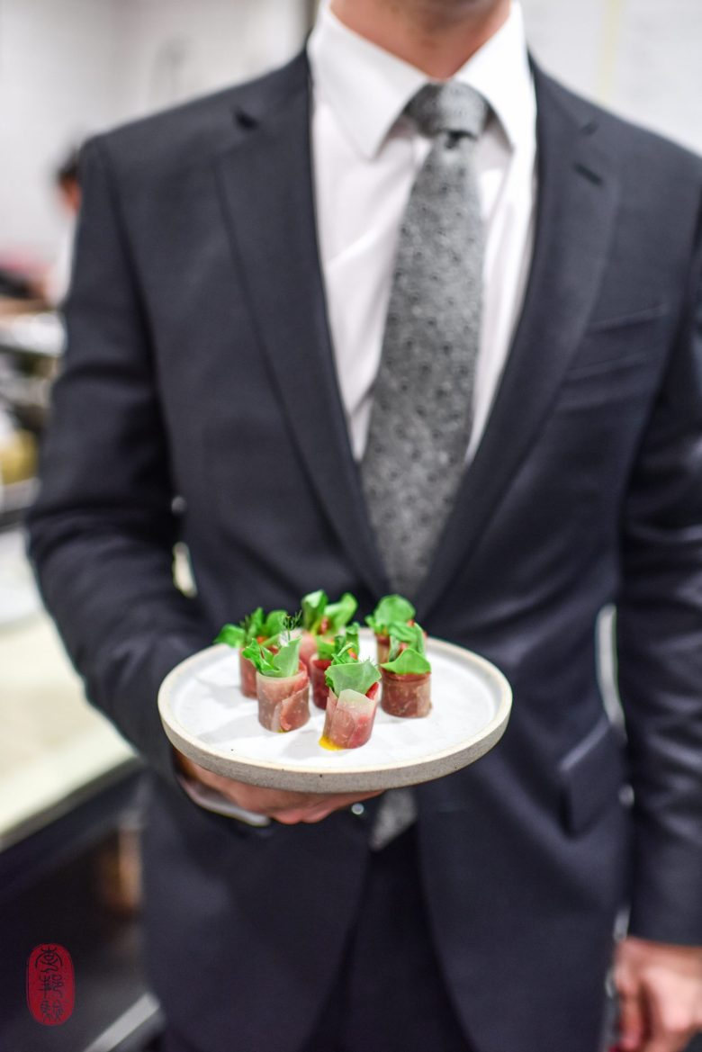 Canapé: Aged Beef