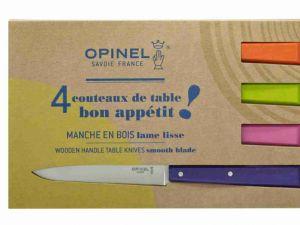 Couteaux de table «Bon appetit» Pop – Opinel- made in France