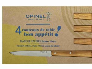Couteaux de table «Bon appetit» Olivier – Opinel,made in France
