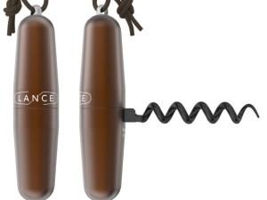 Tire bouchon avec cordon chocolat – Lance