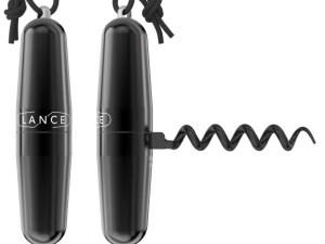 Tire bouchon avec cordon noir – Lance