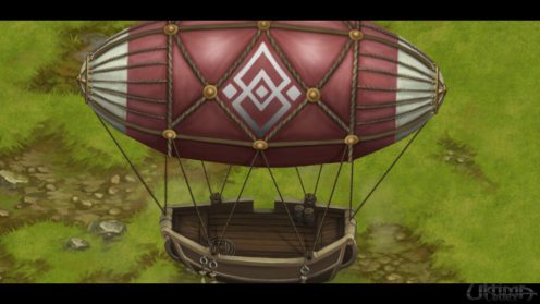 Finally, the airship