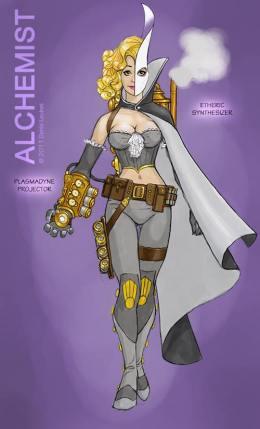The Alchemist character class