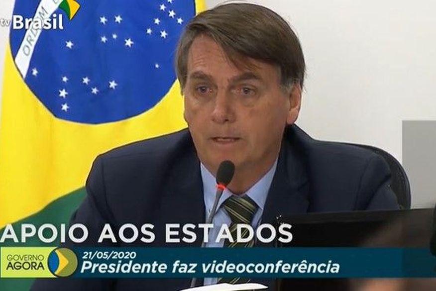 Em reunião com governadores, Bolsonaro defende congelamento de salário dos servidores e garante sancionar ajuda aos estados