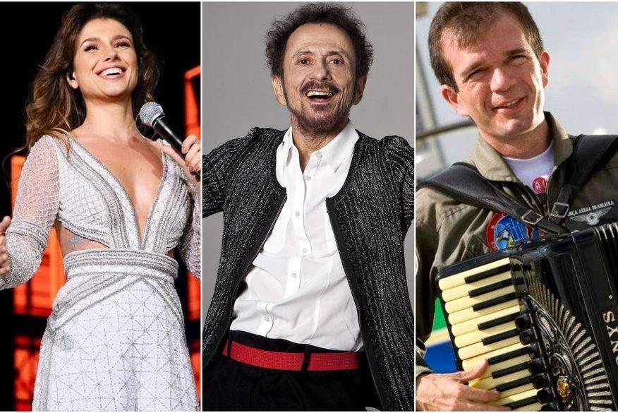 Paula Fernandes, Tom Zé e Waldonys fazem lives nesta segunda; confira programação completa