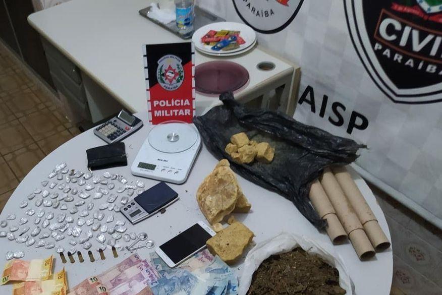 Suspeito de tráfico de drogas é preso com 161 unidade de comprimidos de artane em Bayeux