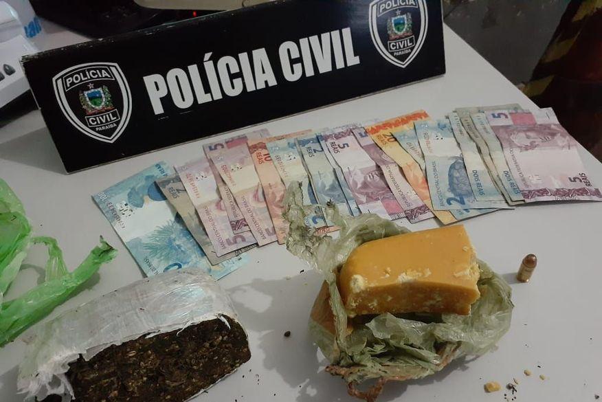 Homem é preso suspeito de tráfico de drogas em Bananeiras