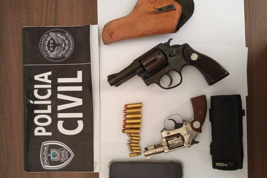 Polícia Civil cumpre mandados de busca e apreensão contra suspeito de homicídios na Paraíba