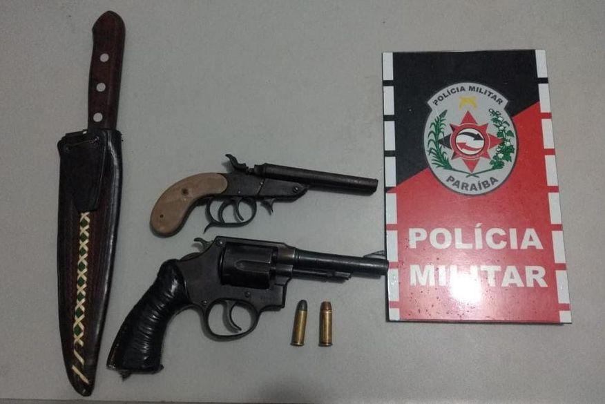 Homem é preso em Patos suspeito de tentar matar amigo após confusão por conta de R$ 11 em bar