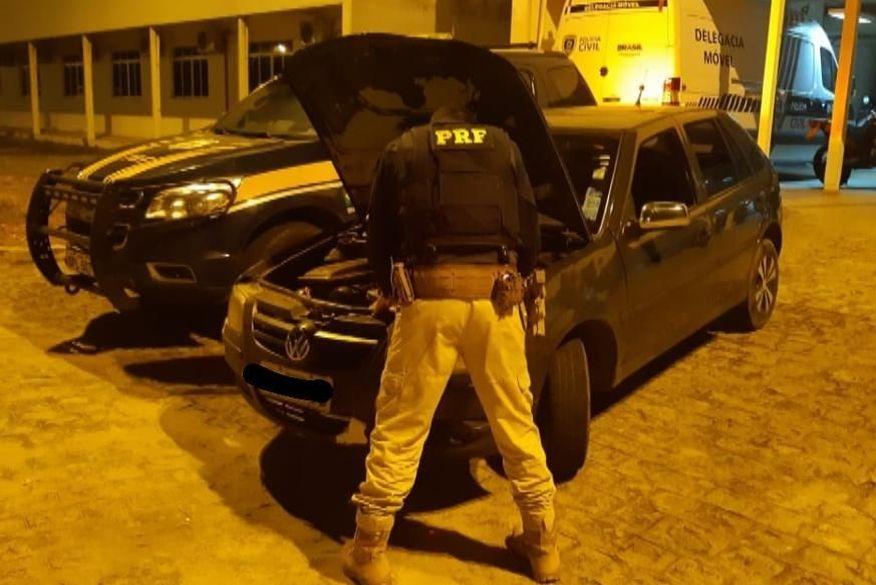 Polícia Rodoviária Federal recupera veículos roubados na Região Metropolitana de João Pessoa