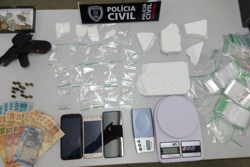 Polícia Civil prende suspeito de tráfico de drogas em Cabedelo