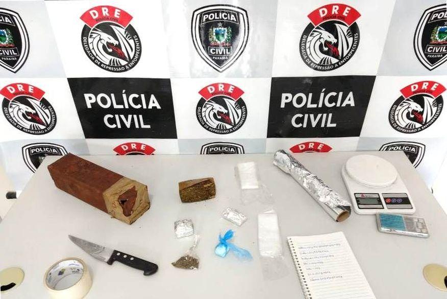 Polícia Civil localiza imóvel que era usado para esconder drogas e explosivos em Campina Grande