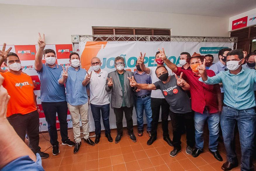 Avante anuncia apoio à pré-candidatura de Cícero Lucena para a Prefeitura de João Pessoa