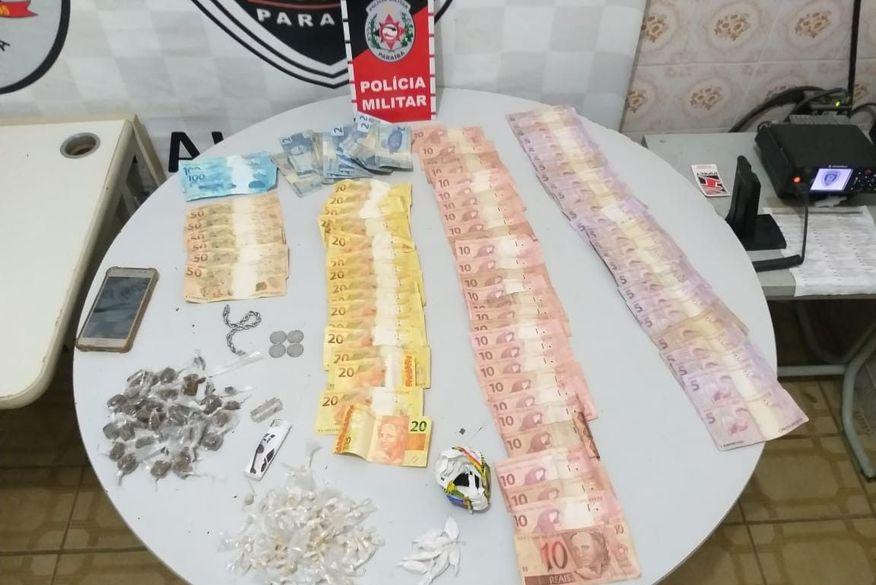 Polícia prende dupla com crack, maconha e cocaína em Rio Tinto