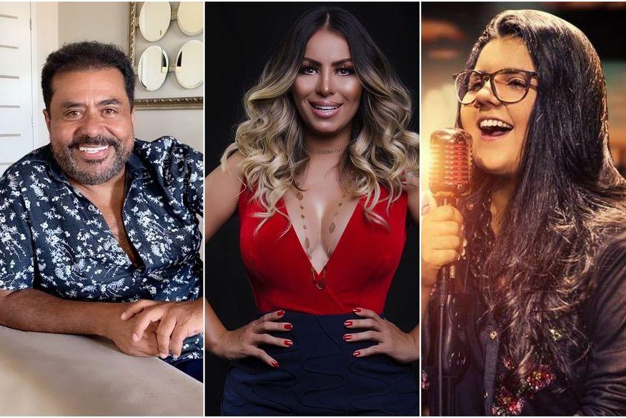 Edson Lima, Walkyria Santos e Yasmin Santos fazem lives nesta sexta; confira programação completa