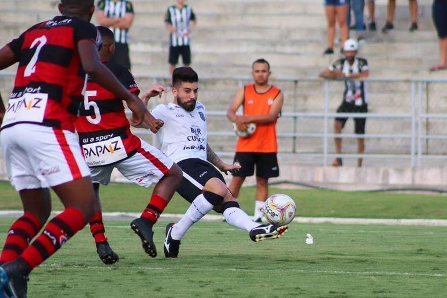 Treze sai na frente e marca o primeiro gol na final do Campeonato Paraibano