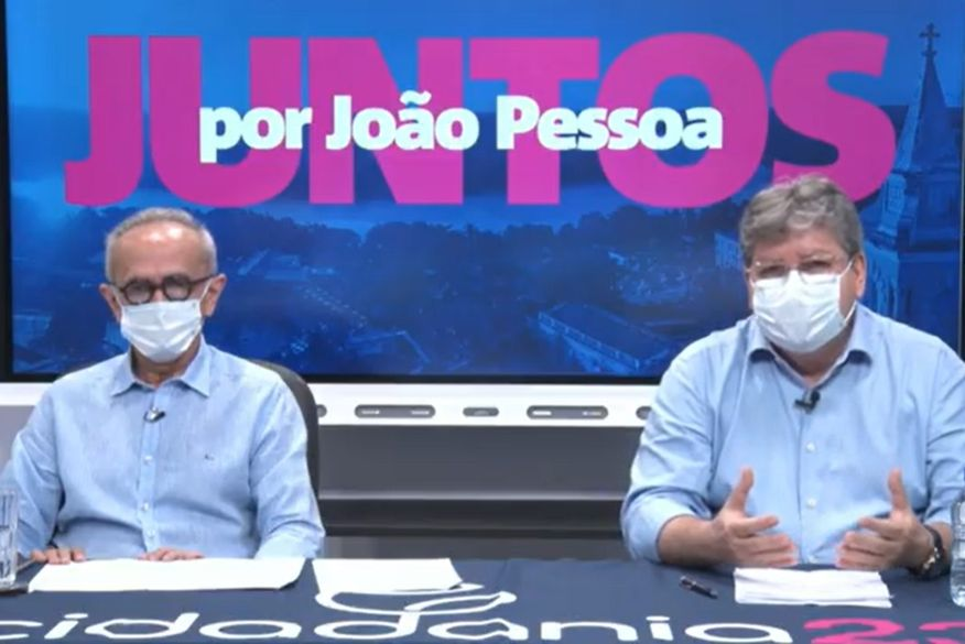 João Azevêdo anuncia apoio do Cidadania à pré-candidatura de Cícero a prefeito de João Pessoa