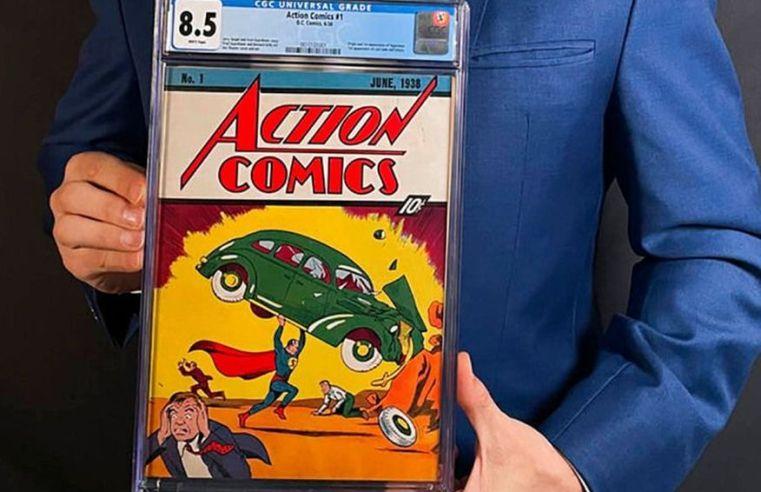 Primeira aparição do Superman em HQs é vendida por R$ 18,2 mi