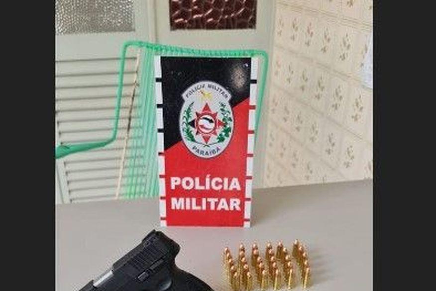 Idoso é preso e arma apreendida durante operação policial na Paraíba