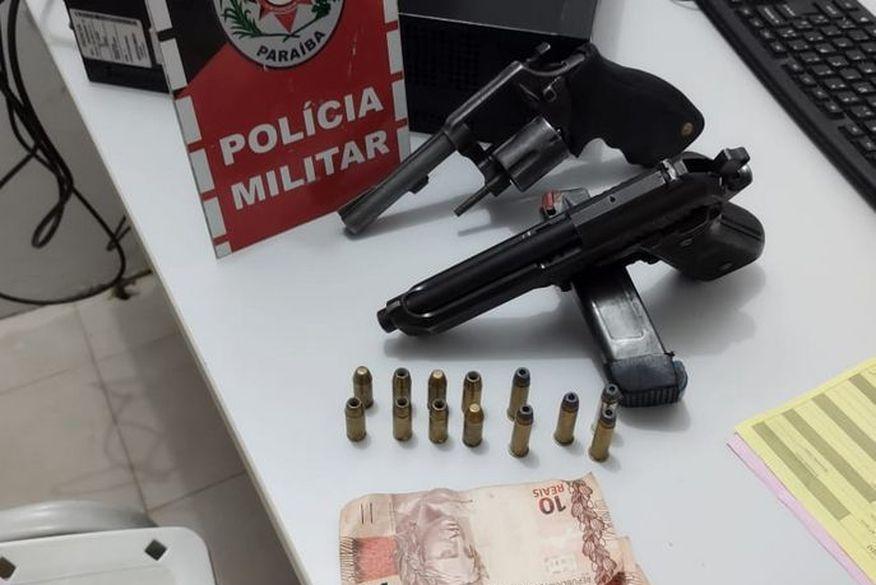 Trio é preso suspeito de realizar assaltos no Sertão da Paraíba