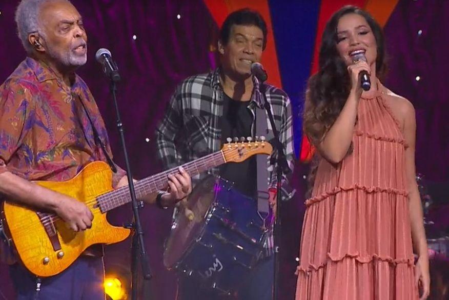 """Juliette diz que ainda estuda carreira musical e que ser apadrinhada por Gilberto Gil foi presente de Deus: """"quero cantar o que eu realmente acredito"""""""