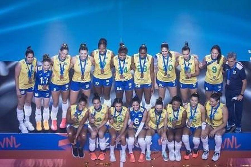 Seleção brasileira feminina de vôlei é convocada para as Olimpíadas