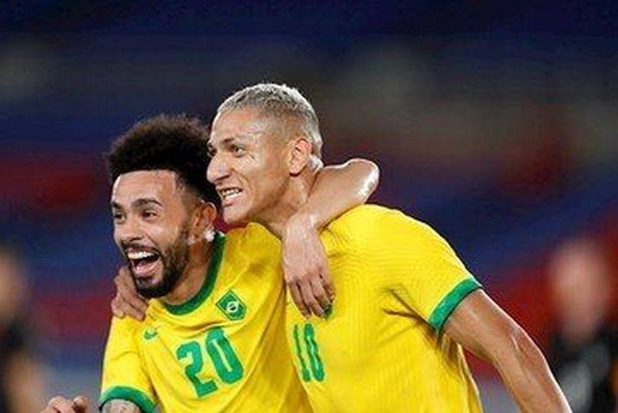 Brasil vence Alemanha na estreia do futebol masculino nas Olimpíadas de Tóquio