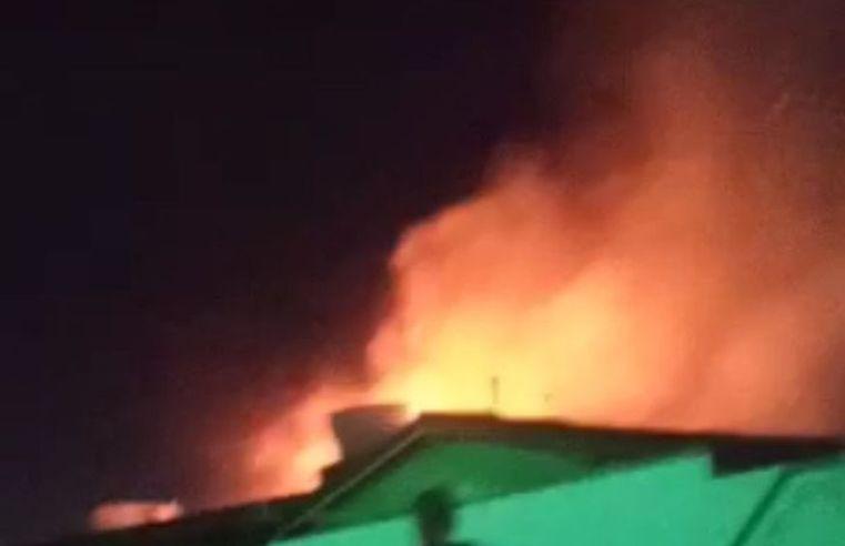 Incêndio atinge casa na Grande João Pessoa