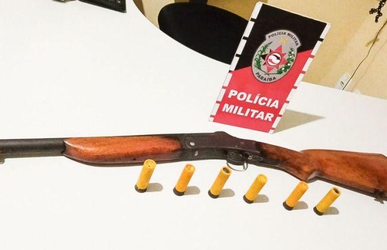 Polícia prende suspeito de porte ilegal de armas no Litoral Sul