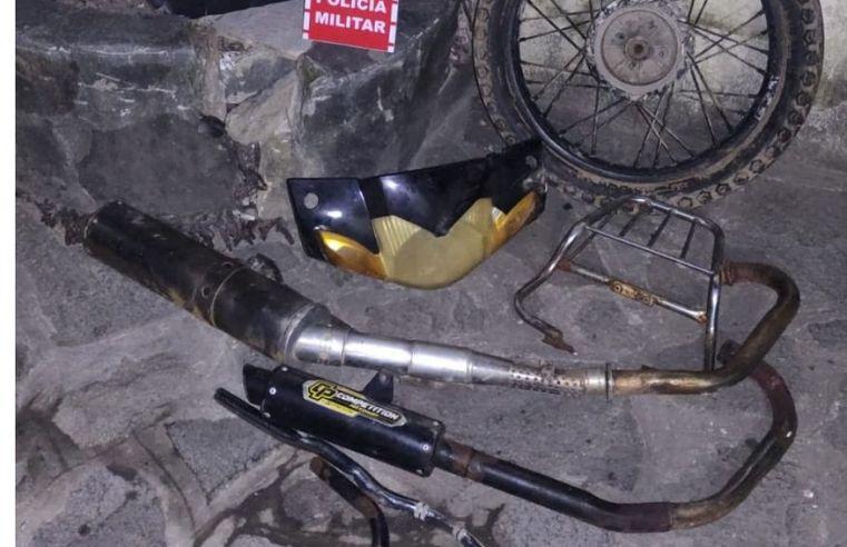 Polícia prende suspeitos de desmanche ilegal de motocicletas em Mamanguape