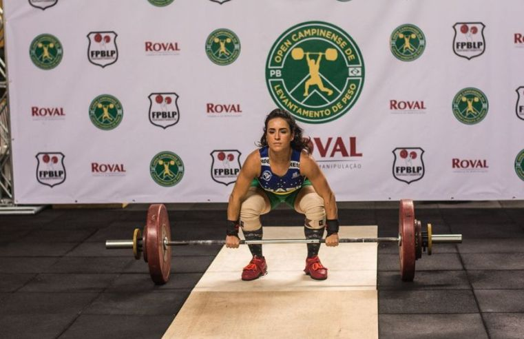Paraibana Mayara Rocha participa do Campeonato Brasileiro de Powerlifting neste sábado