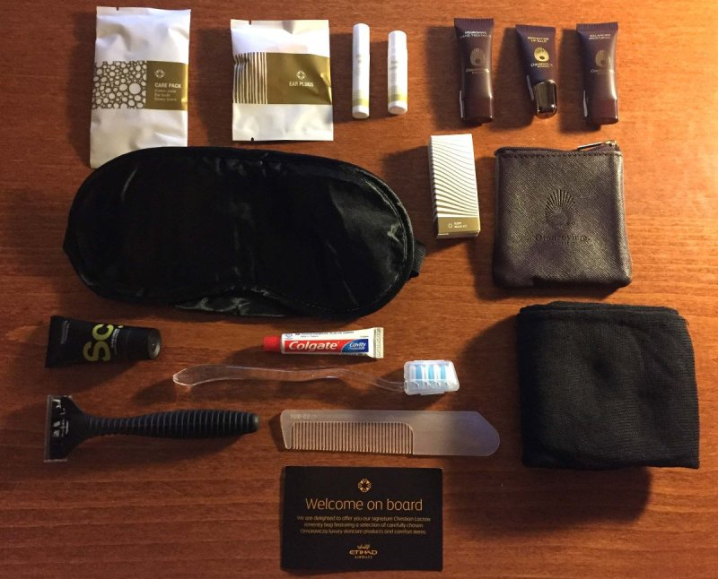 Amenity Kit Etihad First Class