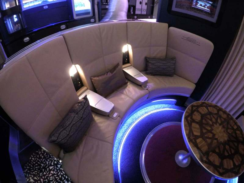 Bar Etihad First Class A380