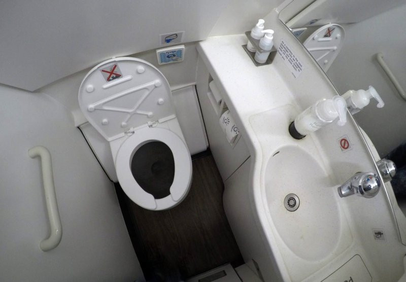 Lavabo business class british Airways A321