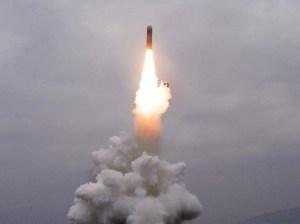 Corea del Norte realizó práctica de lanzamiento de misiles